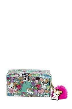Clover Makeup Bag
